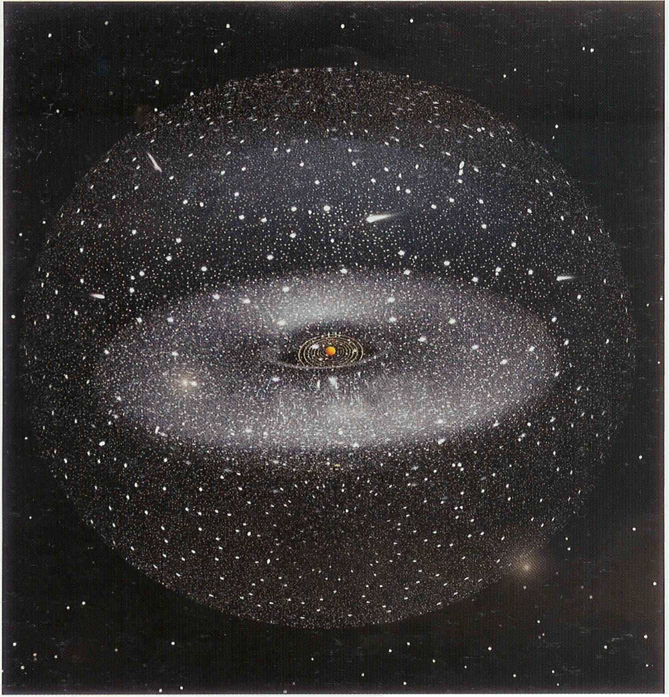 Kuiper-Belt-and-Oort-Cloud-of-the-Sun